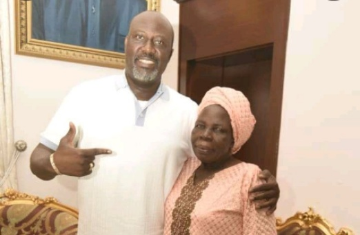 Sen Dino announce the passing of his mother Comfort Melaye