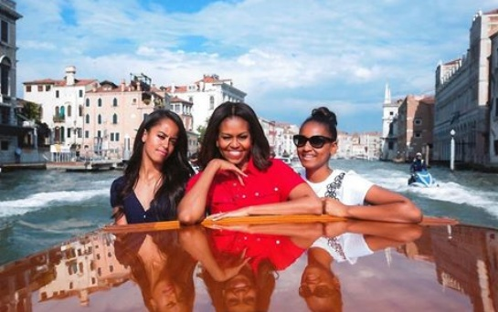Michelle Obama speaks on motherhood, exposure with her daughters