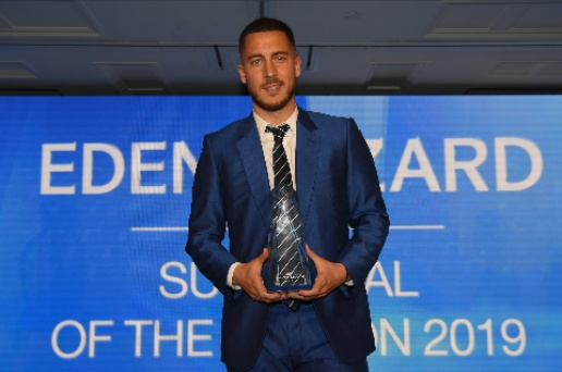 Eden Hazard sweeps Chelsea awards