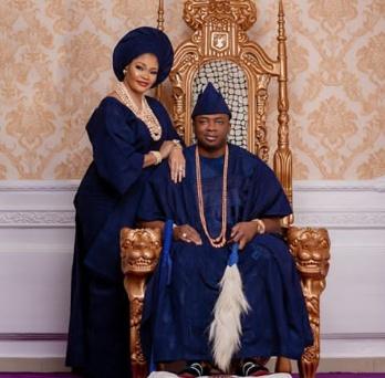 Oba Saheed Elegushi shares lovely photos marking anniversary
