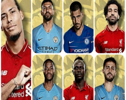 See all the nominees for the EPL player of the season award