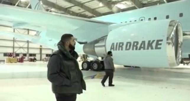 Rapper Drake buys himself a $100m Private Plane