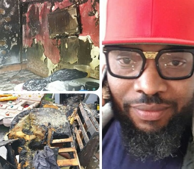 Yaw Naija recounts how he lost everything to a house fire