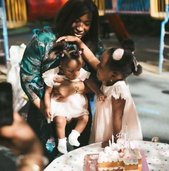 Simi Esiri celebrates her daughter Sidney Esiri on her 4th birthday