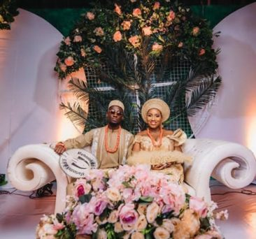 Ndidi and Dinma share first photos from their traditional wedding