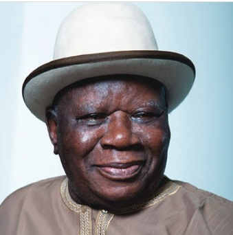 Buhari felicitates with Chief Edwin Clark at 92
