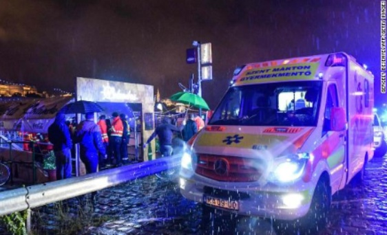 7 dead, 19 still missing after tourist riverboat capsizes in Hungary