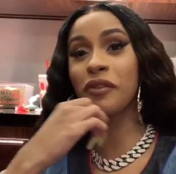 Cardi B frustrated she is losing money trying to fix boobs