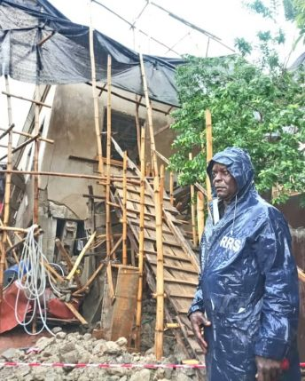 3 trapped as yet another building collapsed in Magodo Lagos