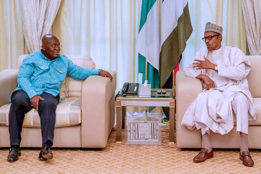 President Buhari receives Nana Akufo-Addo of Ghana