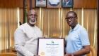 Pitch award: Okowa presented with Football Friendly Governor award
