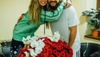 Tom Kaulitz gifts Heidi Klum a bouquet for her 46th birthday