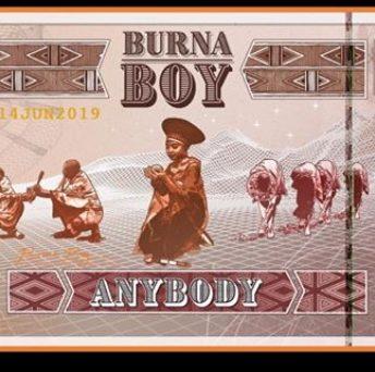 PHOTO: Burna Boy drops a new song, Any Body