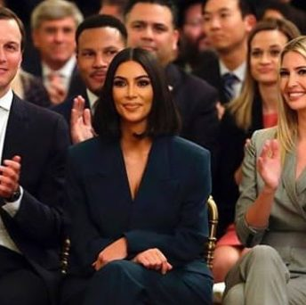 Kim Kardashian praised by Trump for her job on prison reform