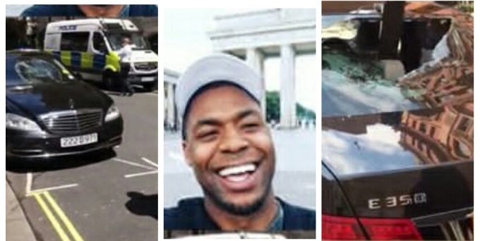Man who allegedly destroyed 5 Nigerian Embassy cars arrested