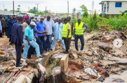 Flood: Gov Abiodun orders the closure of Adigbe-Opako road