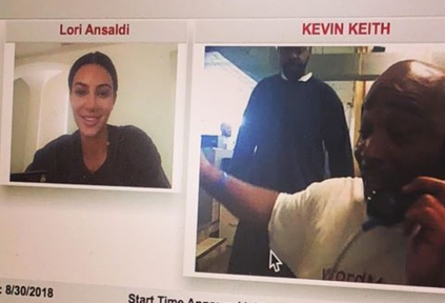 Kim Kardashian working to free one Kevin Keith from jail