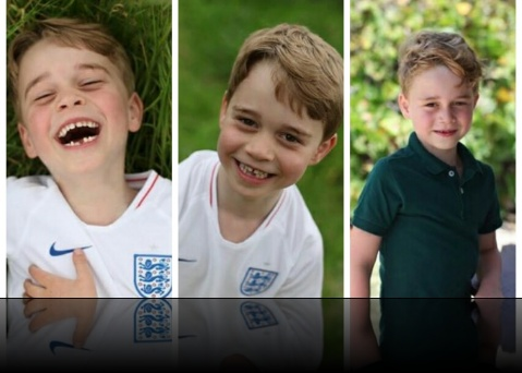 The Royal family shares new photos of Prince George as he turns 6!