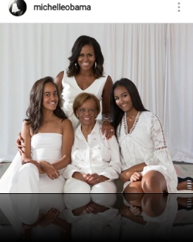 Michelle Obama pens lovely words to her mom on her birthday