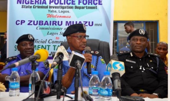 Police raid Lagos brothel,14 customers, sex workers arrested