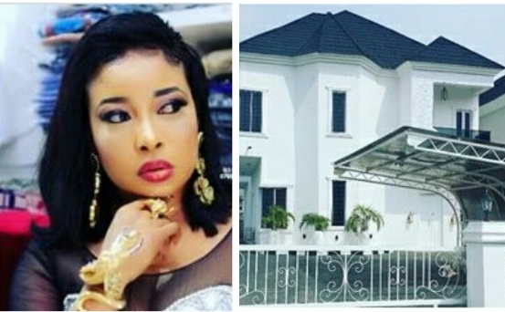 Actress Lizzy Anjorin shares her story as she unveils her mansion