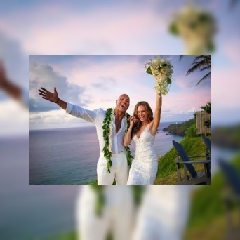The Rock ties the knot with longtime girlfriend, Lauren Hashian