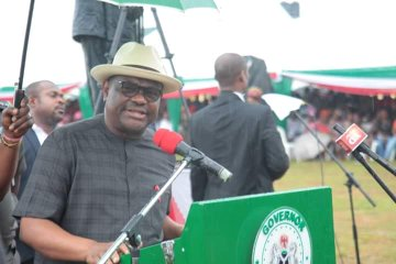 Expect more new projects this second term-Wike to Rivers people