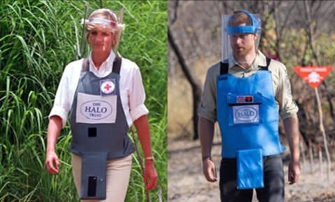 Harry visits Angola's landmines site 22-years after late Diana's visit