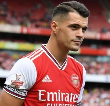 Breaking: Unai Emery names Granit Xhaka as Arsenal's captain