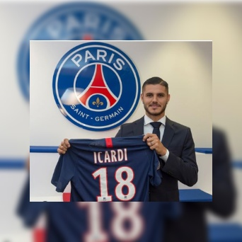 PHOTO: PSG confirm the signing of Icardi on loan