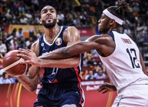 France ends US dominance beating them 89-79 at the FIBA world cup