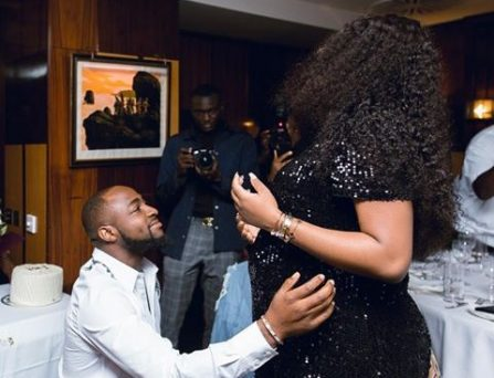 Davido Welcomes Third Child, And A First With Chioma Rowland