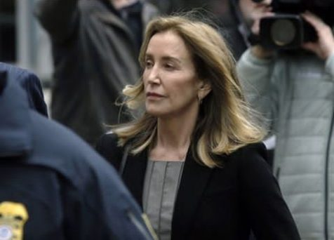 Actress Felicity Huffman Released From Jail Early Than Expected
