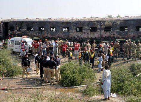 Punjab Province: Over 71 Killed In Pakistan's Train Fire- officials