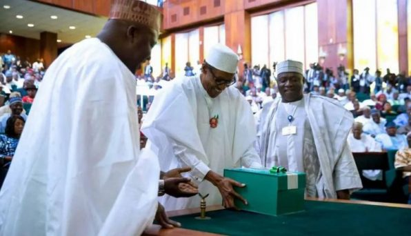 2020 Budget: Buhari presents N10.33trn Appropriation Bill to NASS