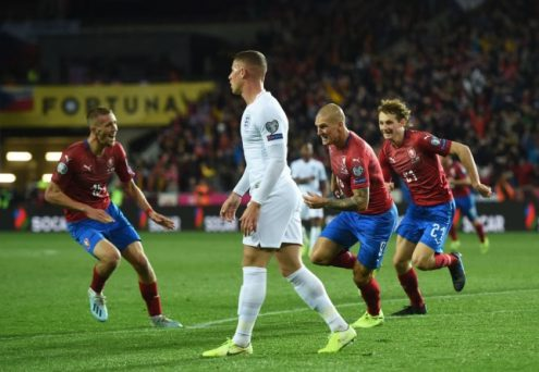 Czech Republic inflicts first defeat on England in qualifier in 10-years