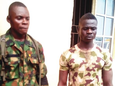 Police Arrest Two Fake Soldiers In Rivers State