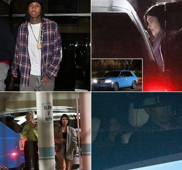 Kylie Jenner breaks silence on Travis, denies date with Tyga