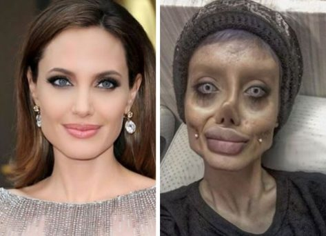 Sahar Tabar who paid to look like Angelina Jolie arrested in Iran
