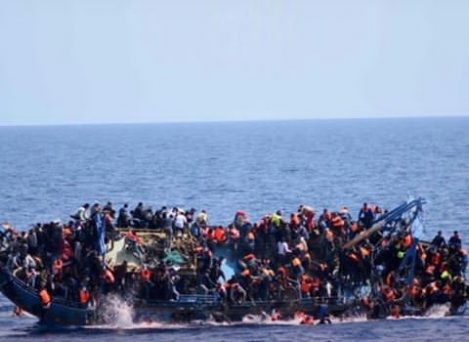 13 reportedly dead as a migrant boat capsized off Lampedusa Island