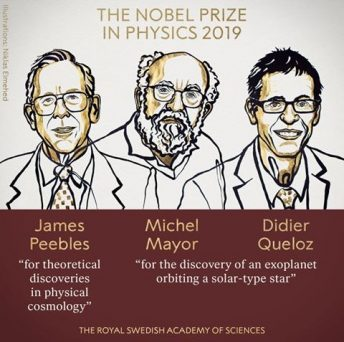 Three Scientists Win 2019 Nobel Prize In Physics