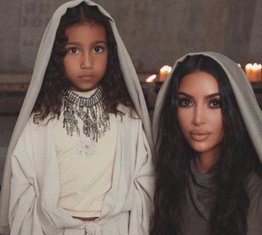 Kim Kardashian and children get Baptized in Armenia