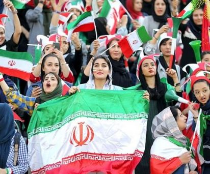 Iranian women are allowed into stadium for first time in 40-years