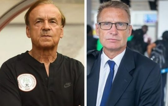 NFF Denies owing Rohr 3 Months Salary, says Dennerby resigned