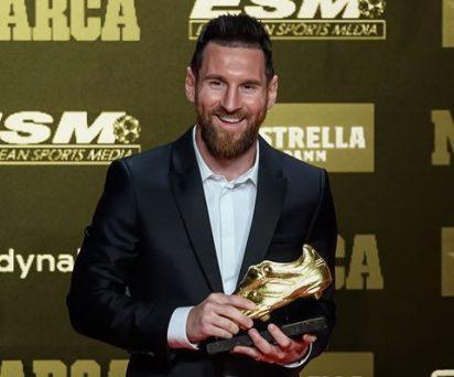 Leo Messi Wins 6th European Golden Shoe