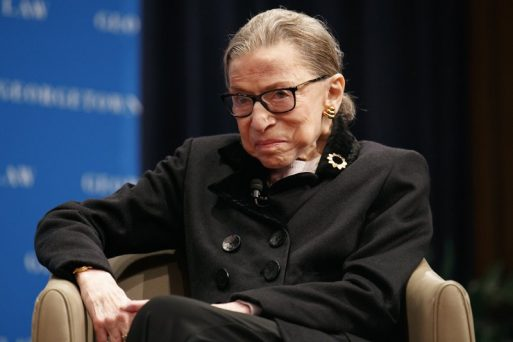 Justice Ruth Ginsburg Reportedly Back On The Bench