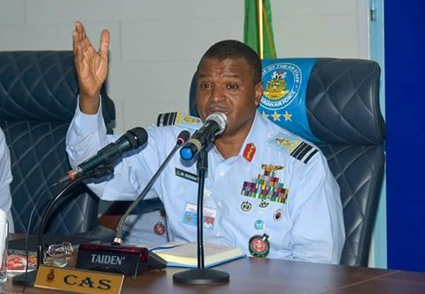 Air operations: NAF chief inspects ongoing maintenance work in Kanji