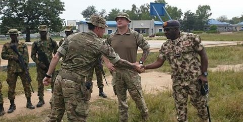Royal Air Force Commences FP-CAGE Training For NAF Personnel In Kaduna