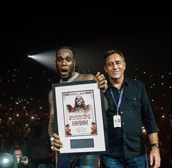 Nobody That's Not Fela paved the way for me- Burnaboy Slams Critics