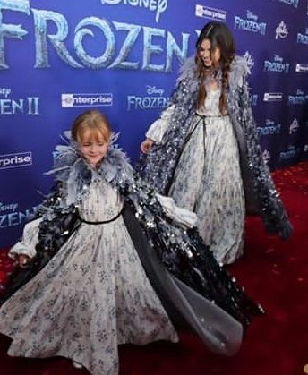 Selena and Gracie graced Frozen-II premiere in matching outfits